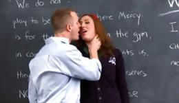 What a stunning and lewd gal sucking long johnson of her professor